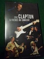 Kaseta VHS -Eric Clapton -and friends in concert