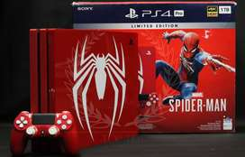 LIMITED EDITION SPIDER-MAN PS4 PRO 1TB