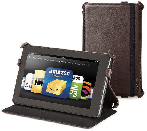 Чехол для планшета Kindle Fire Marware Eco из натуральной кожи коричне Сосница - изображение 5