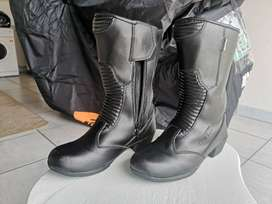 Ladies DMD Motorcycle boots