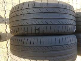 225 40 R19 Continental ContiSportContact Run Flat Tyres