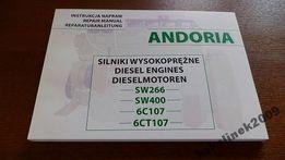 Instrukcja Napraw silnika Bizon Star SW 400 Andoria