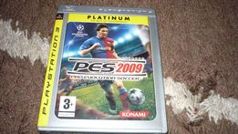 pes 2009 pro evolution soccer gra ps3 (play station 2 3 4 )