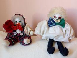 клоун - кукла , керамика , ГДР .