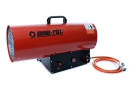 MAR-POL nagrzewnica gazowa, piecyk,dmuchawa 45kW REDUKTOR + WĄŻ