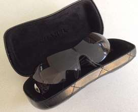 Womens BVLGARI Sunglasses with hard cover CHANEL carry case