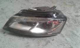 audi a3 2010 clean headlight
