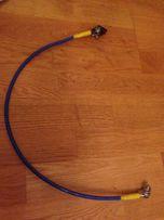 Провода с клемами и болтами новые длина 65 см, сечение 10 мм2
