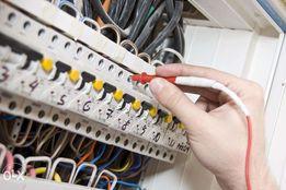 Электрик, круглосуточно, любые виды работ.