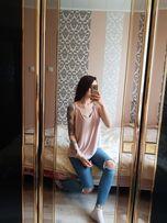 Bezowa bluzka