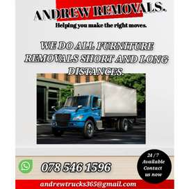 Transport services for Hire.