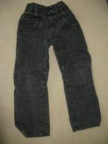 Spodnie szare chłopięce 104/110