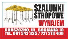 Szalunki stropowe- Bierzwnik, Pyrzyce, Recz, Suchań ,Barlinek,Nowogard