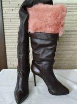 Продам женские зимние сапожки Италия размер 39