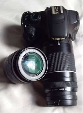 Canon 1200d with Twin lenses for sale