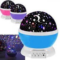 Ночник- проектор звездное небо Star Master Dream rotating projection