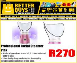 Professional Facial Steamer BY1078 Pink - R270   Features: – Made of p