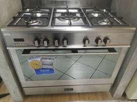 Elba 90cm 5 burner gas electric stove