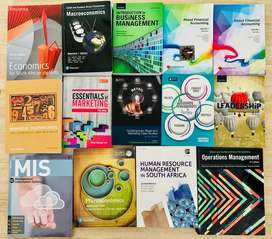 UNISA textbooks for sale (good-as-new condition):