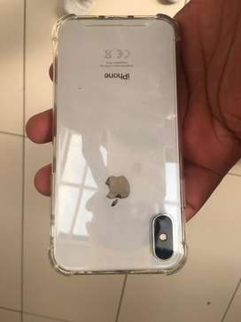 iphone X 256gb white for sale