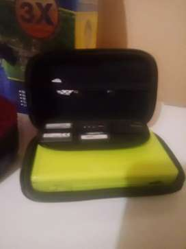 Nantendo ds with carry case 3 games charger