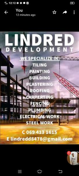 Home renovations ,building  projects etc.