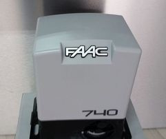 Zestaw automatyki do bramy przesuwnej skrzydłowej FAAC 740 Olsztyn