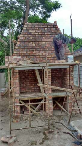 bricklaying tilling carpentry paving plastering welding painting