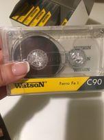 Аудиокассеты запечатанные