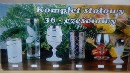 Zestaw stołowy KROSNO - 36 elem. Kieliszki i Szklanki