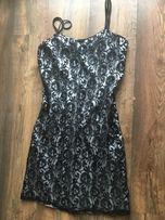Sukienka z koronka na ramiączkach