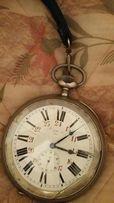 Часы серебряные антикварные