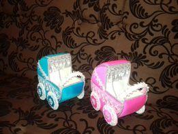 Свадебные коляски для сбора денег