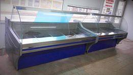 Холодильные витрины Capraia (капрая) от 1м. до 2,4 м. 100% нерж. Новые