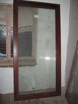 Okno Drewniane Mahoń
