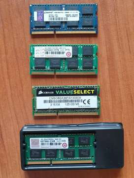 4GB and 8GB DDR3 Laptop Ram