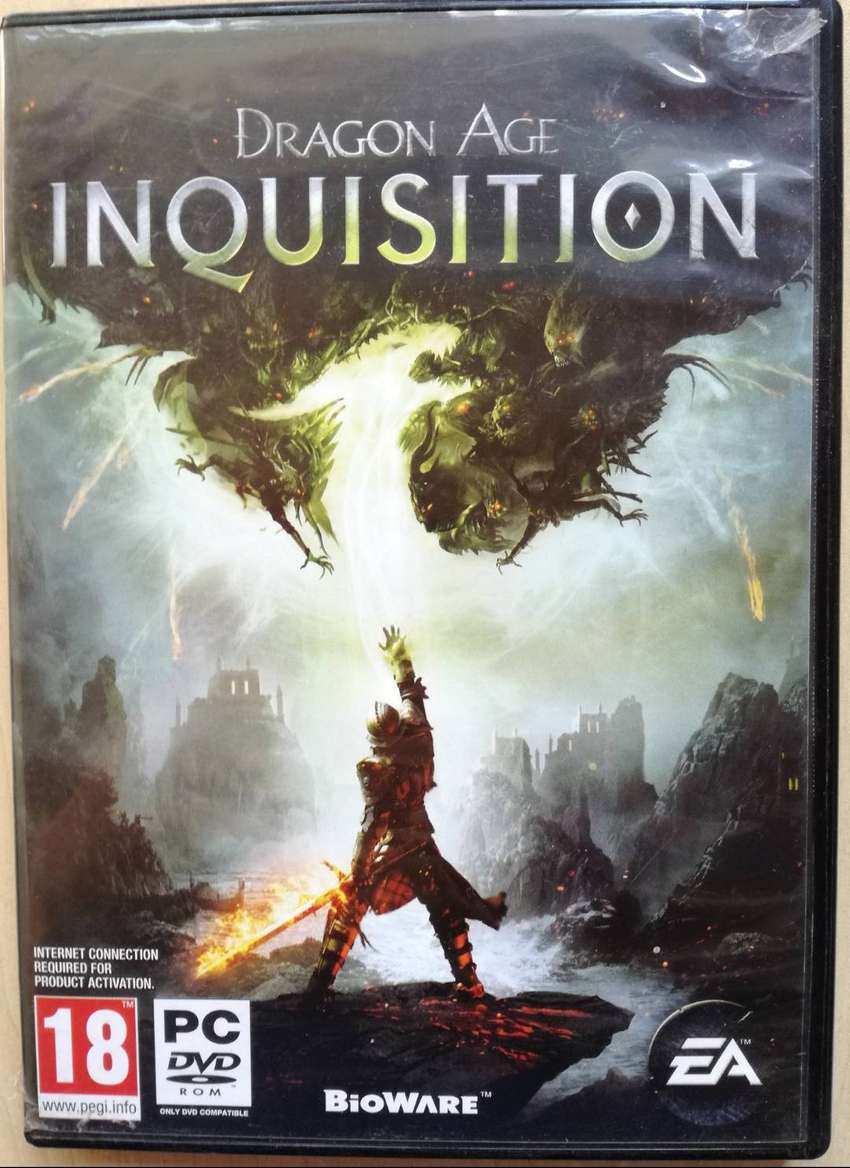 PC DVD ROM GAME INQUISITION DRAGON AGE 0