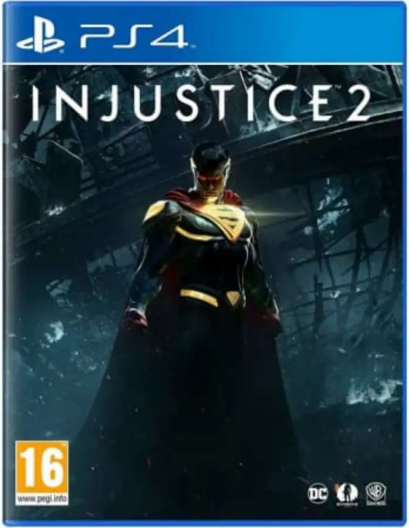 Injustice 2 ps 4 game