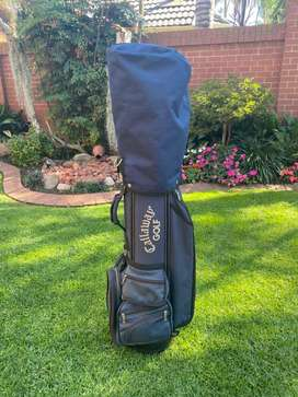 Callaway Big Bertha Golf Clubs and bag