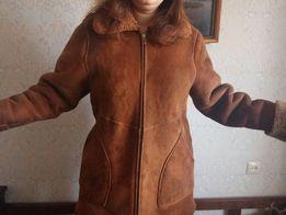Дубленка натуральная 48-50 размер теплая мутон