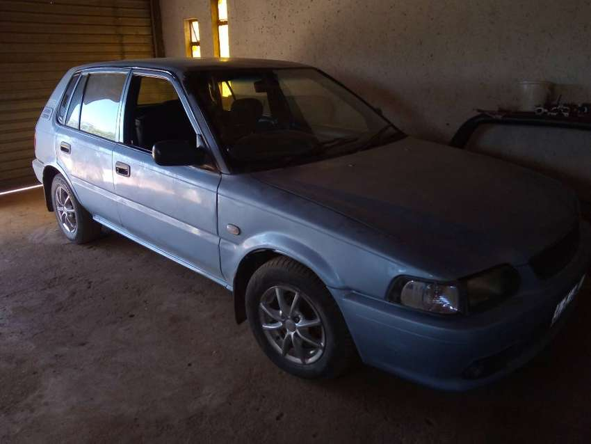 I'm selling my Toyota tazz 98 model still in good condition 0