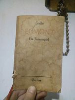 "Гете ""Эгмонт""/Goethe ""Egmont"""