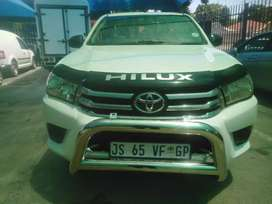 2016 TOYOTA HILUX GD6 2. 0 LOWBASE, MANUAL