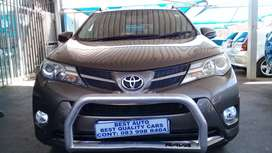 2014 Toyota RAV4 2,4 Engine Capacity D4D AWD  with Automatic Transmiss