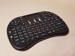 Клавиатура с гироскопом i8 англ/русс пульт smart tv/android тв/ box/ПК