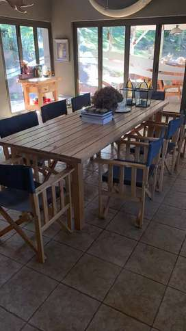 Custom Made Tables & Chairs