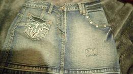 Jeans spódniczka r.S