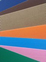 Tektura falista różne kolory