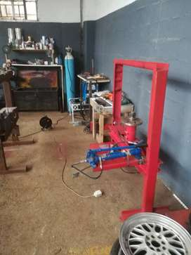Mag repair, weld, polish and paint. Complete system avl. Imeadiately