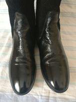 Итальянская обувь. Брендовые деми сапоги, кожа натуральная. 40-41 разм